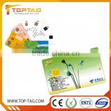 blank pvc contact ic smart card various chip options card hot selling professional printing Contact Smart Card