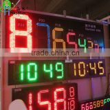 EPCU High Waterproof/Ultra brightness gas price sign display 7 Segment LED oil Price broad