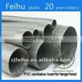 China high quality PVC Flexible ventilation hose pipe Clothes Dryer Parts disposable ventilator circuit