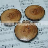 Natural wood wood beer cup tray, wooden coasters wholesale                                                                         Quality Choice