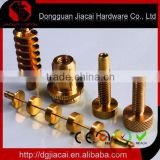copper or brass screw and nut with top-grade quality--precision hardware parts or machined parts