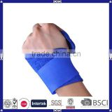 made in China customized OEM sweat-absorbent adjustable neoprene fabric wrist wraps