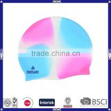 ear protection cheap novelty silicone swim cap