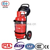 25kg ABC BC DCP Dry powder fire extinguisher on wheels