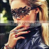"Mysterious Black Venetian Style Metal Laser Cut Masquerade Mask w/ Rhinestones Featured on ""Vampire Diaries"""