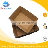 logo printed take away corrugated kraft cardboard printed chips tray with logo                                                                         Quality Choice