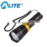 Aluminum Metal Q5 LED Powerful Diving Torch with Printing YT-57                                                                         Quality Choice