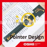 Magnetic bookmark, PP material plastic bookmark for zoo, school