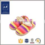 indoor outdoor warm slippers, latest girls slipper, soft fashion slippers