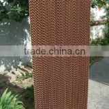 China supplier chicken farms/greenhouse honeycomb cooling pad for sale