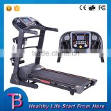 Household electrical motorized gym fitness running machine