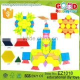 2016 New Design Kids Building Block Toys Wooden Puzzle Blocks Educational Diy Toys for Children