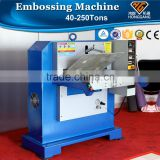 automatic hydraulic leather glove embossing machine