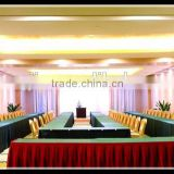 factory direct wholesale Large multi-functional conference hall use table covers table skirts