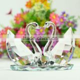 Crystal swan for wedding souvenirs