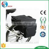 Article No. TP-770211 600D polyester bicycle double rear pannier bag