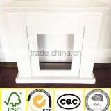 Best selling wholesale customized Europe style indoor freestanding wood fireplace mantel                                                                         Quality Choice