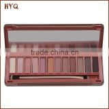 New cosmetic products 12 colors makeup eyeshadow palette