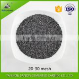Factory supply Irregular YG8 crushed tungsten carbide, tungsten carbide grits, tungsten carbide granules