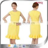 formal office dresses for women dress bandage bodycon sexy tropical dresses yellow cheap mermaid prom dresses