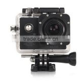 140 degree wide angle lens wifi support waterproof sports camera