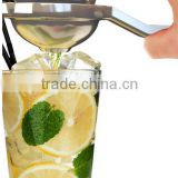 Lemon Squeezer Stainless Steel Juicer Hand Held Fruit Press