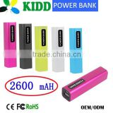 2600mah Power Bank 2600mah Portable Power Pack External Battery Charger Mobile Battery Charger Portable Battery Charger