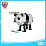 Panda balloon of China factory decoration foil balloon with customer logo for party needs and wedding stage