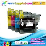 New compatible ink cartridge LC 125 127 plotter ink cartridge for Brother printer