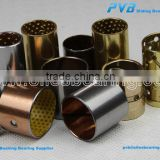 Bimetal bearing,kin pin bushes,leaf spring bearing Steel backed lead bronze lined bearing