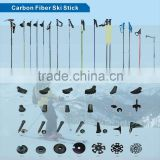 Carbon Fiber Shaft Material and Carbon Fiber Grip Material Ski Poles