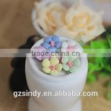 3D Ceramic Flower Rose Rhinestone Nail Art Handmade Ceramic Flowers 3D Ceramic Flower ZX:TC807                                                                         Quality Choice