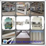 film faced plywood laminating hot press machine