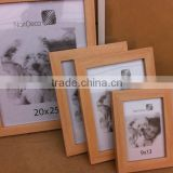 Wholesale cheap classical wooden color ps moulding plastic photo frame
