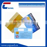 Good price top quality blank ic card, full color printing contact ic card, smart ic card