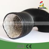 Hydroponic air conditioner exhaust pvc pipe