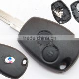 Big Discount car plastic key covers for Renault Megane Modus Espace Kangoo 2 buttons remote key cover