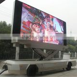 Practical and Beautiful Outdoor Advertising Vehicle, Advertising Trailer, LED Billboard truck YES-T12