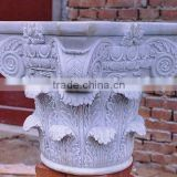 Stone terrace railing designs marble baluster hand carved stone sculpture