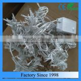 outdoor and indoor Christmas decorative PVC LED curtain light, led net light, fairy LED lights