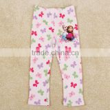 (G5550) 18M-6Y spring/autumn pink baby girl pants children long leggings clothing wholesale