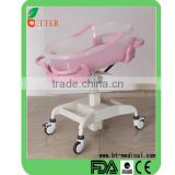 High quality and secure hospital baby cribs meet safety stanrdards