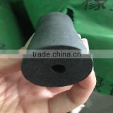 black rubber foam tube/pipe for protect