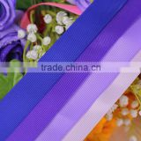 "1""high quality printed wholesale cheap grosgrain ribbon for wedding dress waist belt suits gifts decoration on sale"