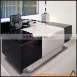 Fashion Contemporary Black White Dining Table Set