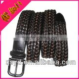 Quality Hand-Woven Belt Feminino Polo Ralph Men Handmade Weaved Bonded Leather Belt