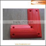 PTMG and PU Red type 470*150*27mm polyurethane wheel chock