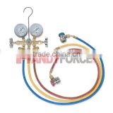 4Way Piston Type Testing Manifold Gauge, Air Condition Service Tools of Auto Repair Tools