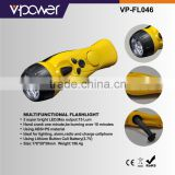 multifunction emergency led flashlight with radio