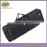 Custom 88 Keys Waterproof 600D Oxford Black Tote and Shoulder Musical Instrument Keyboard Bag